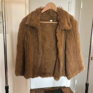 Jackets & Blazers - Never worn real fur jacket